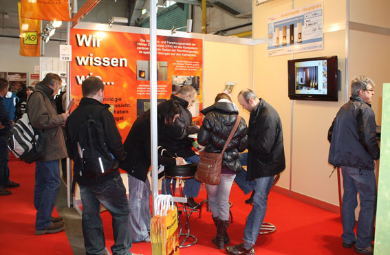 Besucher Stand E-Messe Wels 2011
